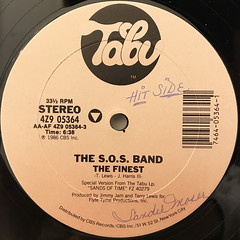 SOS BAND:THE FINEST(LABEL SIDE-A)