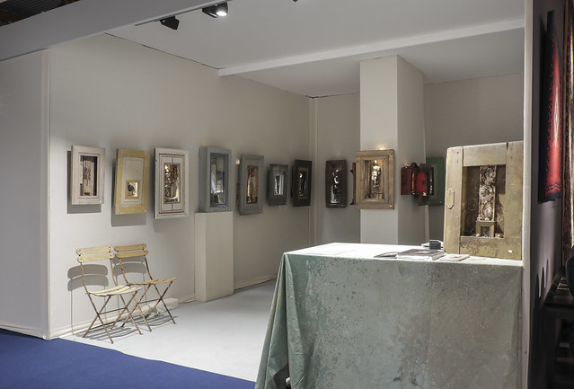 Peter's booth at Brussels Fine Art Fair