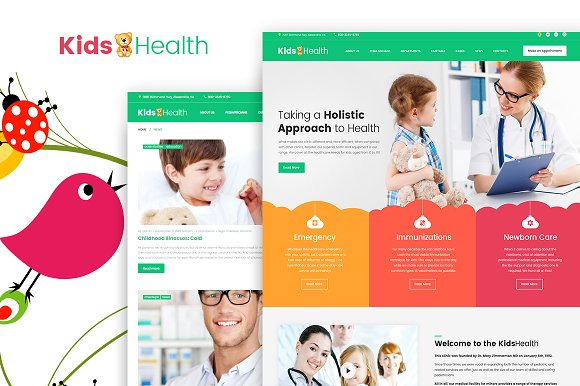 KidsHealth v1.0.0 – Kids Clinic