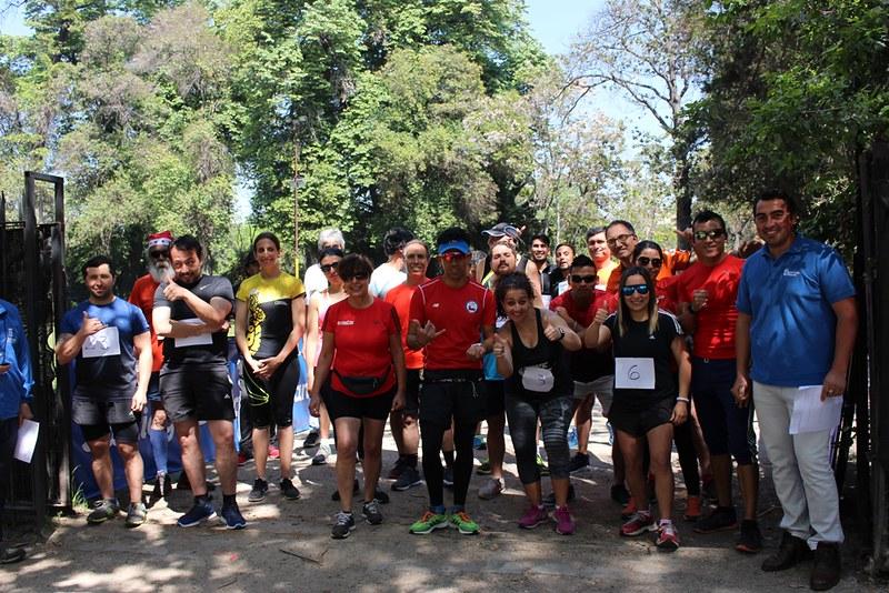 Maratón - Competencias día del funcionario municipal de santiago 2017