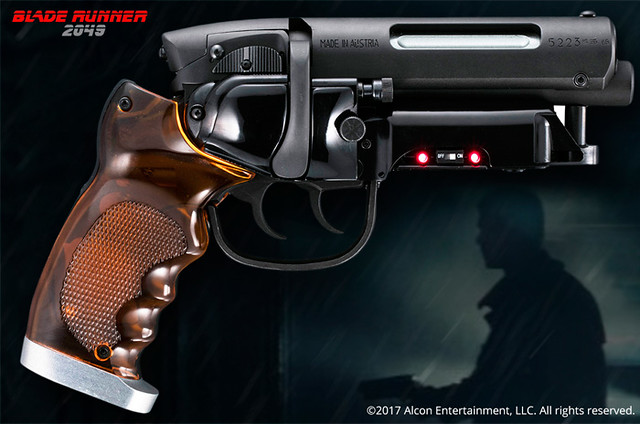 Hollywood Collectibles Group《銀翼殺手2049》銀翼殺手 手槍道具複製品 Blade Runner 2049 Blaster Replica