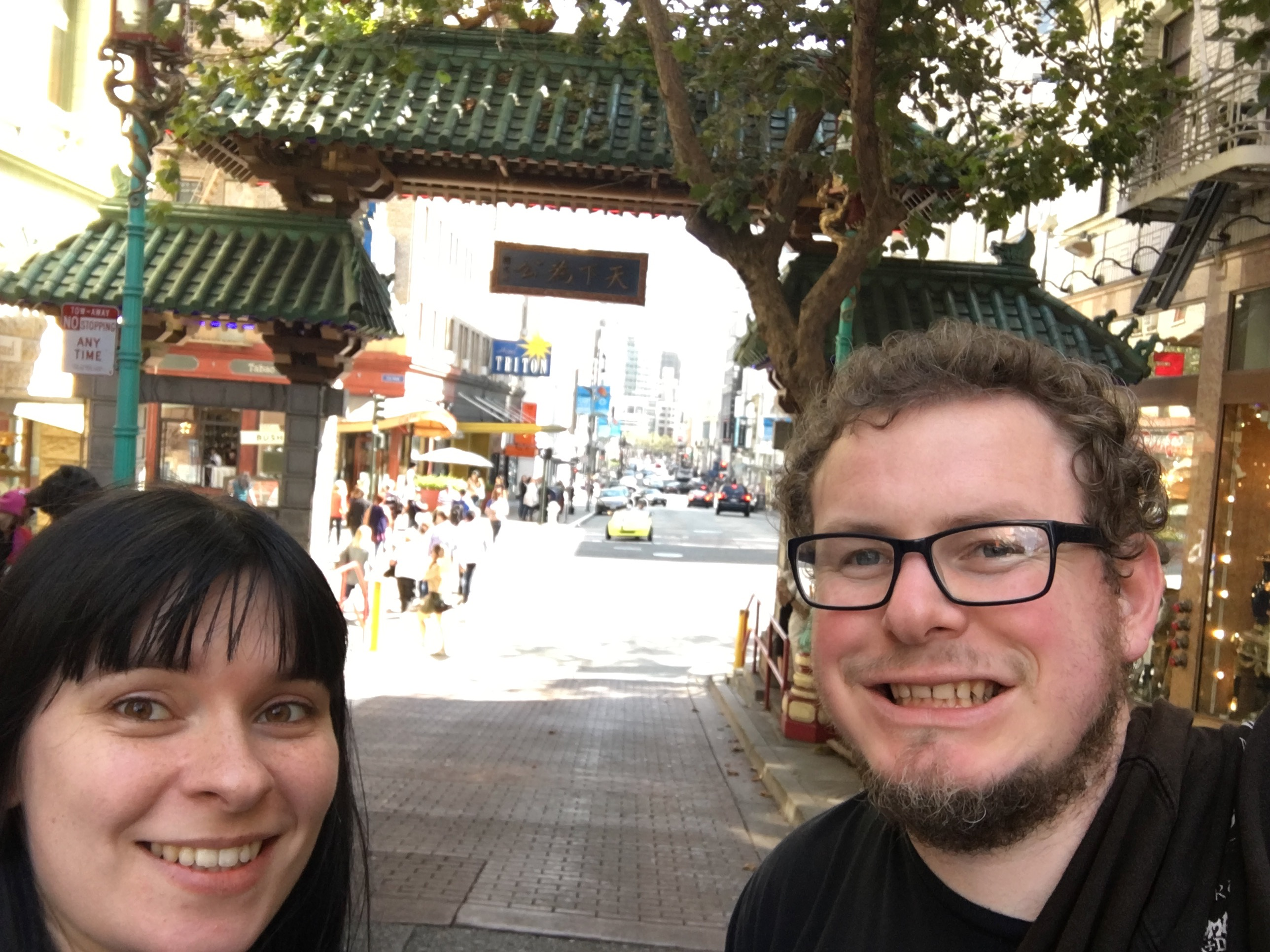 San Francisco - chinatown gate