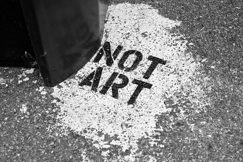 artless art in Boston's public alleys