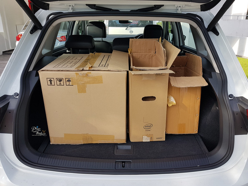 vw tiguan trunk boxes