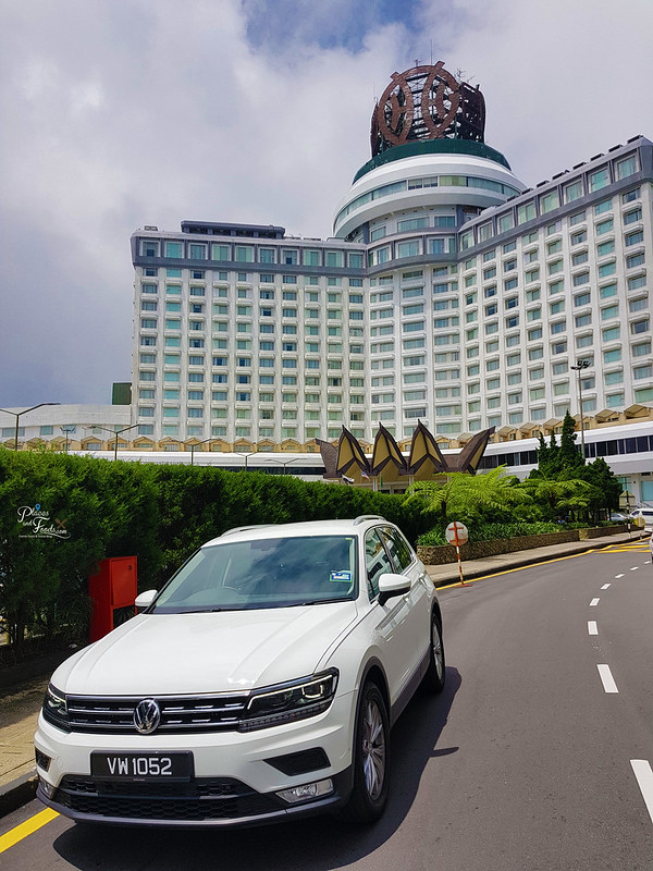 vw tiguan genting highlands front