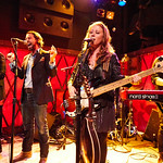 Thu, 14/09/2017 - 6:12am - The Lone Bellow (Zach Williams; Kanene Donehey Pipkin; Brian Elmquist) perform for WFUV Public Radio at Rockwood Music Hall in New York City, 9/14/17. Hosted by Rita Houston. Photo by Gus Philippas/WFUV