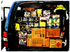 A Propper #EpicFirework Car Load