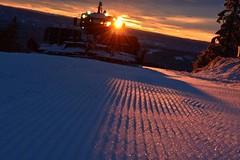 V norském Sjusjoenu se už lyžuje