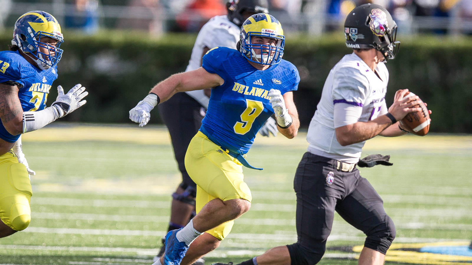 Another season, another strong Blue Hens defense