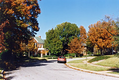 Park Hill in Autumn, Fort Worth, 1994