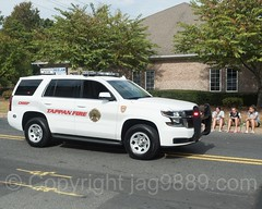 Tappan NY Fire Chief Vehicle, 2017 Northern Valley Fire Chiefs Parade, Northvale, New Jersey