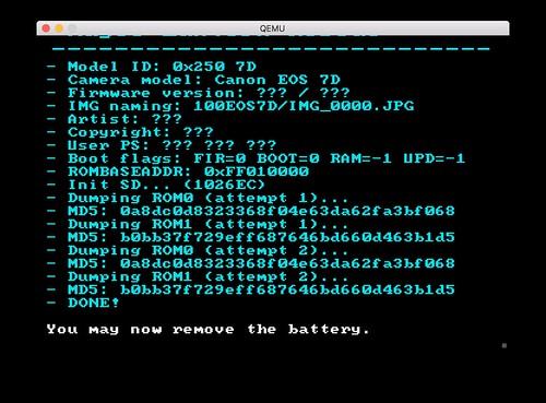 Portable ROM dumper