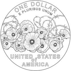 World War I commemorative design reverse