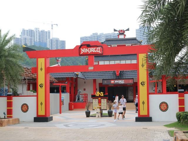 ninjago legoland obiective turistice malaezia 1