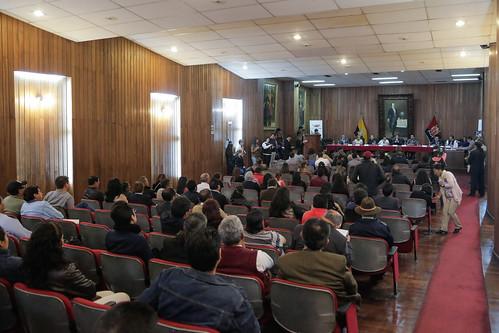 11 de octubre de 2017 - Comisión de los Derechos de los Trabajadores invita a la Mesa de Diálogo para la construcción participativa del Nuevo Código Orgánico Integral de Trabajo