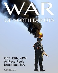 """The War of North Dakota"" at Race Reels tonight in Brookline. #standingRock #mniwiconi #warofnorthdakota"