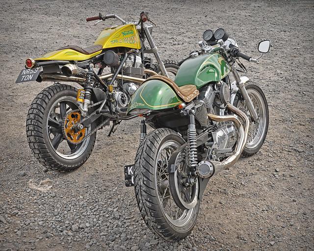 Cafe Racer or Tracker..