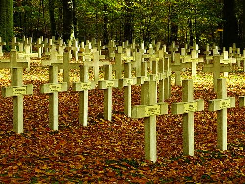 Cimetière militaire français 14-18 de Rossignol-Plateau