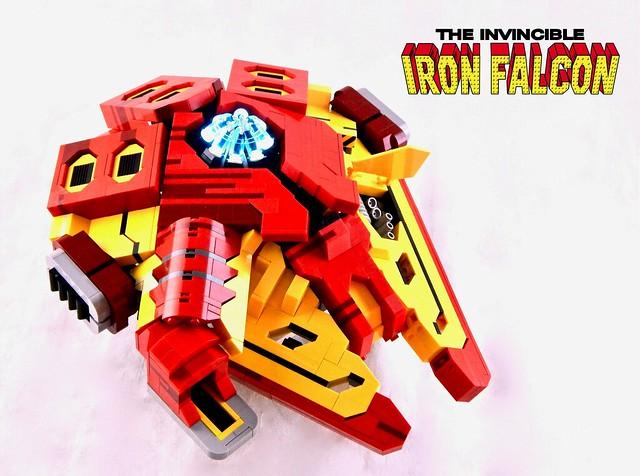 Tony Stark's Iron Falcon