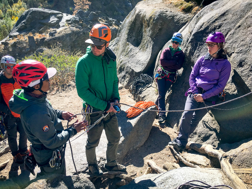 Amga Single Pitch Instructor Course Mountain Madness