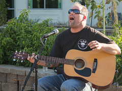 """Christian DeWild performing music from his new album """"Little Devil."""""""