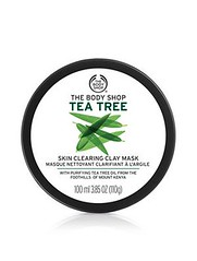 790 THE BODY SHOP มาส์กสำหรับผิวหน้า Tea Tree Skin Clearing Clay Mask 100 ml.