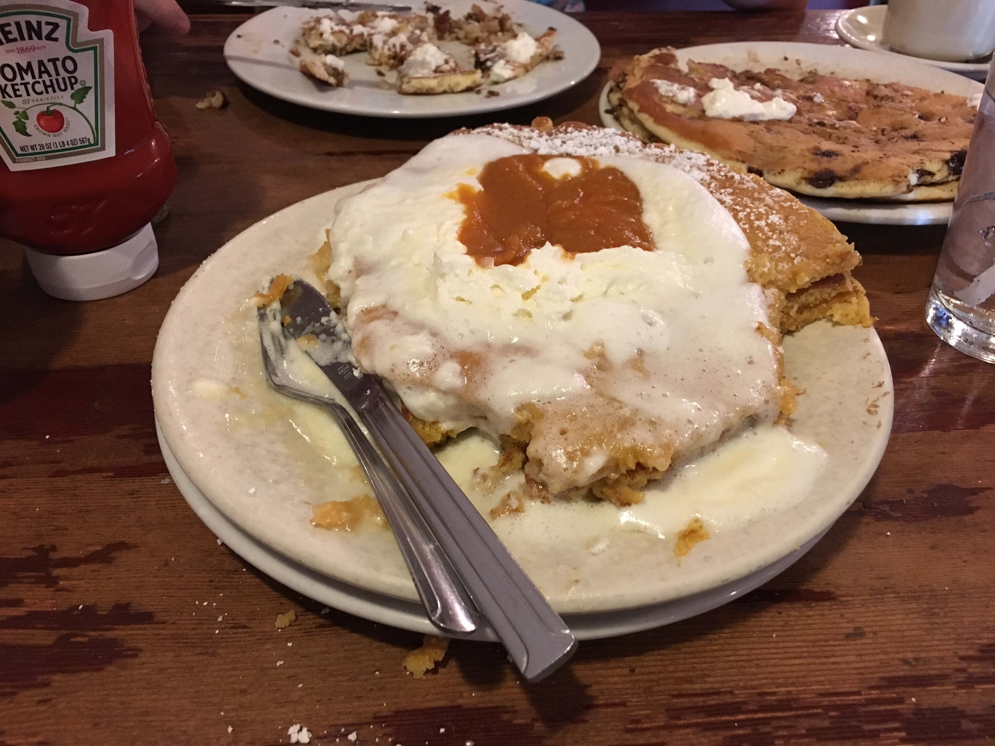 Los Angeles Food - beaten by pancakes