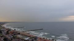 Piers along the Coastline