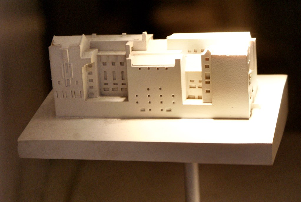 Une maquette de construction de Mackintosh.