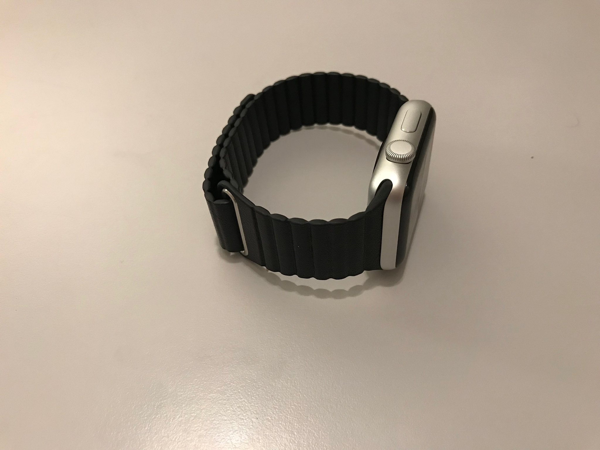 Casetify Black Magnetic Apple Watch Band 07