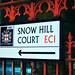 Snow Hill Court / street sign