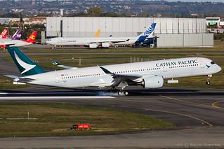 F-WZNQ / B-LRV - Airbus A350-941 - Cathay Pacific - CN 154