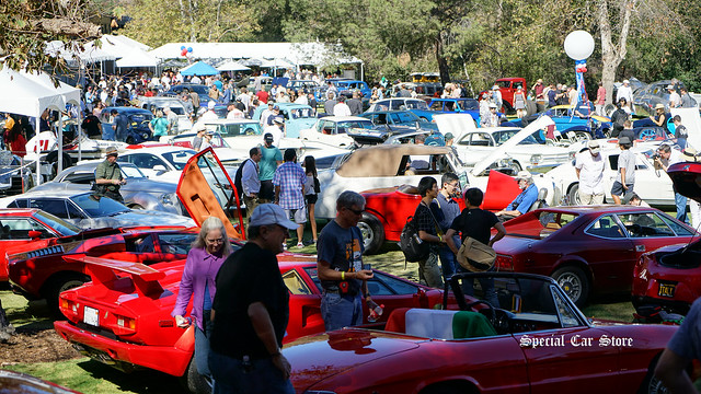 Red White and Blue theme Art Center Car Classic 2017