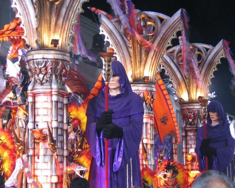 California Miami Rio Carnival Paris Bangkok