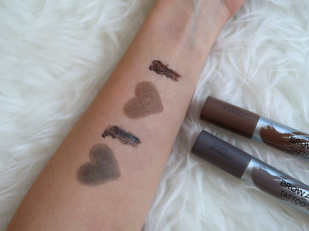 Swatches L'Oreal Brow Artist Dual-ended Tattoo Tint 2