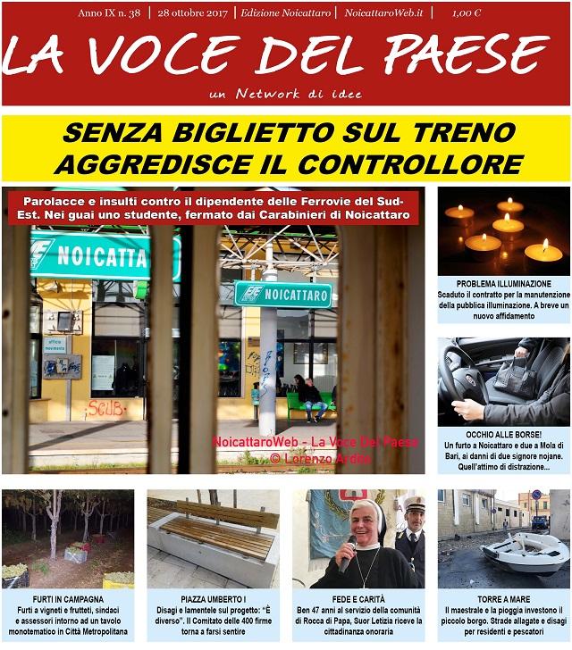 Noicattaro. Prima pagina n. 38-2017 intero