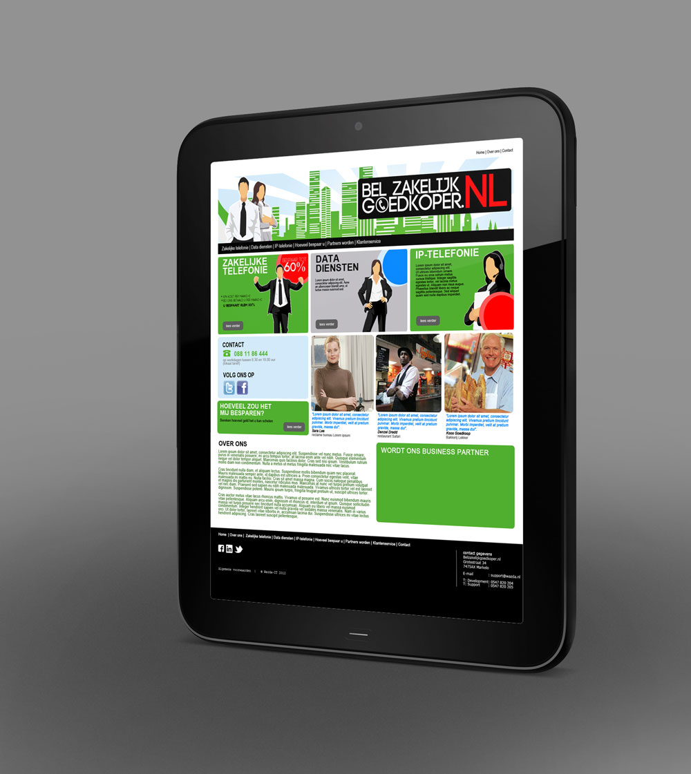 belgoedkoper.nl tablet