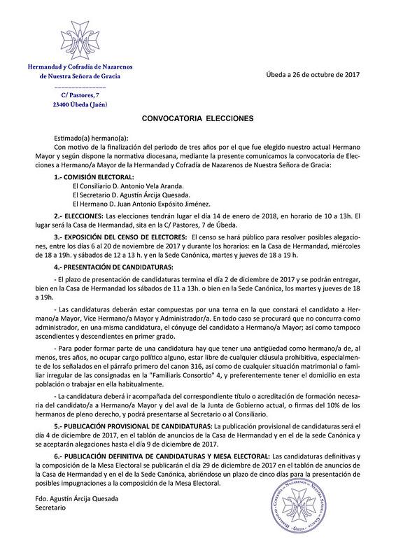 Carta Hermanos Elecciones 2018 blog