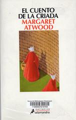 Margaret Atwood, EL cuento de la criada