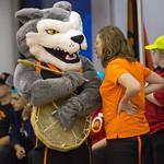 Wolfie with Miranda (Oct 27, 2017 Snucins)