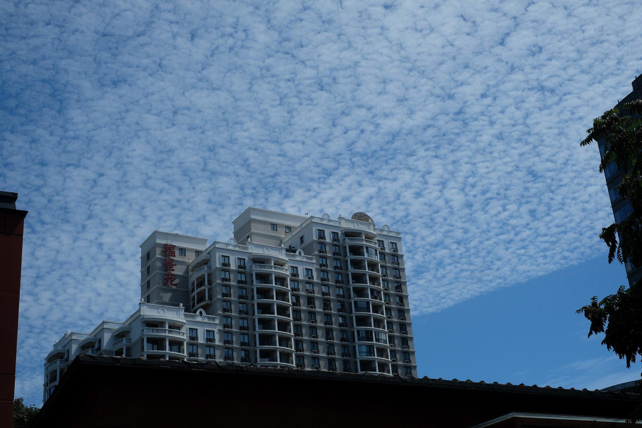 komische Wolken über BJ