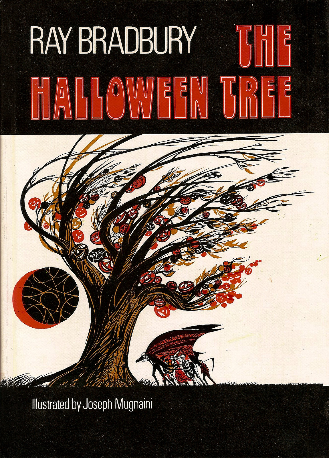 Joseph Mugnaini - Cover illustration from  The Halloween Tree, by Ray Bradbury,  1972
