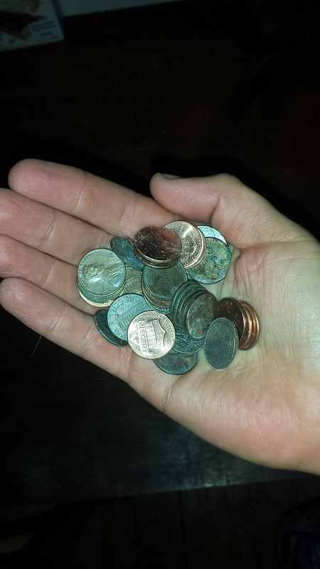 Lucky penny haul