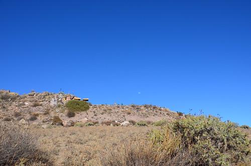 Blich zum Cruz del Condor von den Aussichtsterrassen aus gesehen.