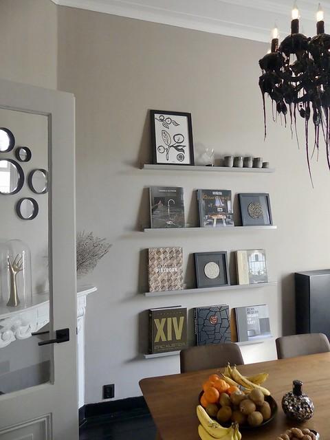 Foto planken woonkamer interieurboeken