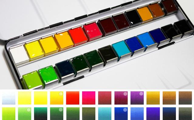 ホルベイン AWC アーティストウォーターカラー 透明水彩絵の具