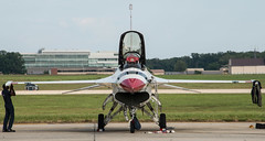 U.S. Air Force Thunderbirds F-16C Fighting Falcon