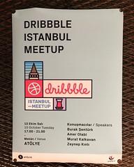 #IstanbulDribbleMeetUp #istanbul #dribble #MeetUp #bomonti #atölyeistanbul #atölyeist #bomontistanbul #bomontiada #Graphityart #freelancer #Şişli #Türkiye #AdvisedByRefs @buraksenturk @zeynepkinli @graphityart @atolyeist @refsproduction