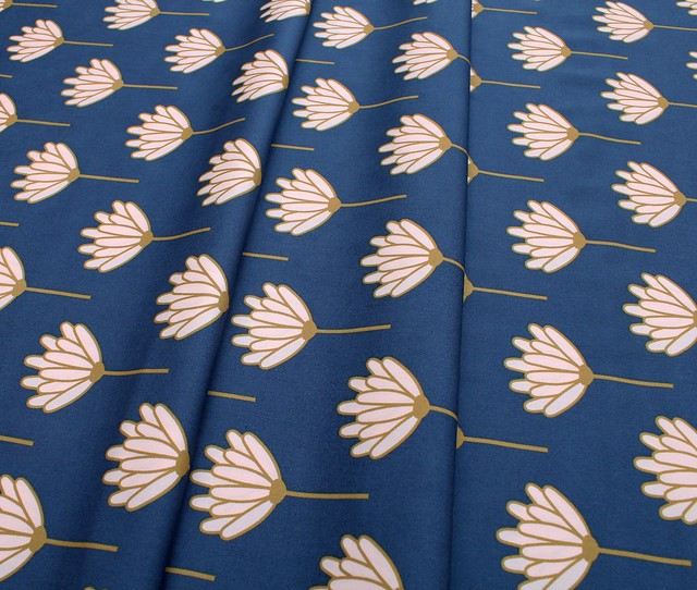Art Gallery Fabrics Blush Floret Sunkissed