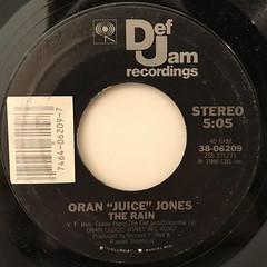 ORAN JUICE JONES:THE RAIN(LABEL SIDE-A)